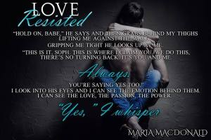 Love Resisted Teaser 2