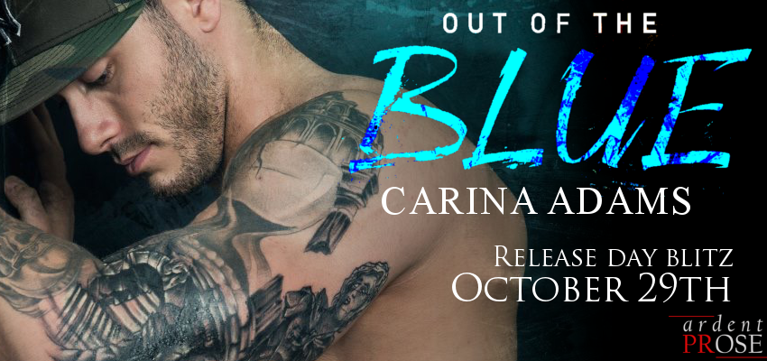 Out Of The Blue Release Banner